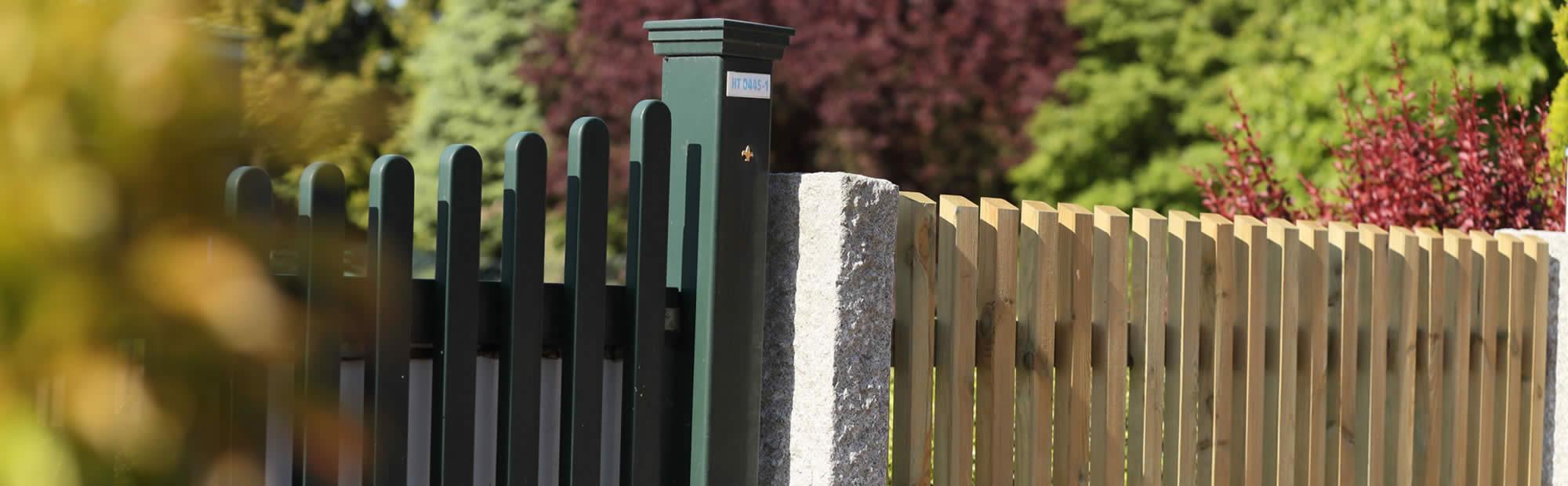 Zaun Sichtschutz Holzzaun Kunststoffzaun Hasselbring